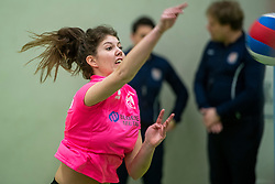 31-03-2019 NED: Final A Volleybaldirect Open, Koog aan de Zaan<br /> 16 teams of girls and boys D competed for the Dutch Open Championship / Set Up