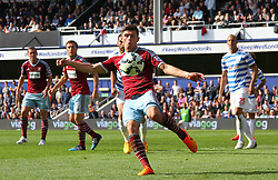 West Ham United's Aaron Cresswell - Photo mandatory by-line: Mitchell Gunn/JMP - Mobile: 07966 386802 - 25/04/2015 - SPORT - Football - London - Loftus Road<br />  - QPR v West Ham United - Barclays Premier League