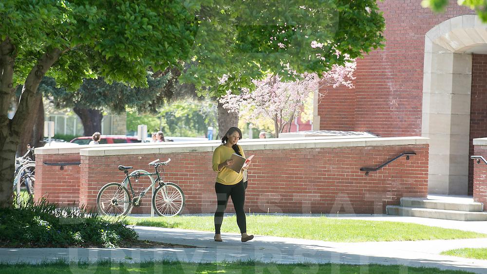 Campus Scenes, Spring, Carrie Quinney photo