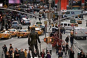 traffic on Times Square