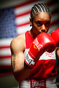 6/24/11 2:47:08 PM -- Colorado Springs, CO. -- A portrait of U.S. Olympic lightweight boxer Queen Underwood, 27, of Seattle, Wash. who will be competing for her fifth title. She began boxing in 2003 and was the 2009 Continental Champion and the 2010 USA Boxing National Champion. She is considered a likely favorite to medal at the 2012 Summer Olympics in London as women's boxing makes its debut as an Olympic sport. -- ...Photo by Marc Piscotty, Freelance.