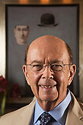 WEST PALM BEACH, FL - DECEMBER 29, 2015: Billionaire Wilbur L. Ross, Jr. made his money investing in distressed assets and has filled his West Palm Beach home with his pieces from his $150-million art collection, which includes over 25 René Magritte paintings. (Photo by Melissa Lyttle)