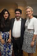 LEILA MALEKI, KAMIAR MALEKI; LADY MYNERS;  Dinner to celebrate the 10th Anniversary of Contemporary Istanbul Hosted at the Residence of Freda & Izak Uziyel, London. 23 June 2015