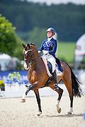 Laurence Roos - Fil Rouge<br /> European Championships Dressage U25 2016<br /> © DigiShots