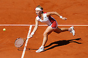 Roland Garros. Paris, France. June 10th 2006..Women's Final. Svetlana Kuznetsova against Justine Henin-Hardenne.