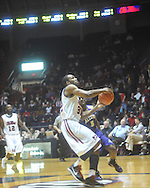 """Ole Miss guard Zach Graham (32)  dunks at the C.M. """"Tad"""" Smith Coliseum in Oxford, Miss. on Thursday, December 29, 2010. Ole Miss won 100-62. (AP Photo/Oxford Eagle, Bruce Newman)"""