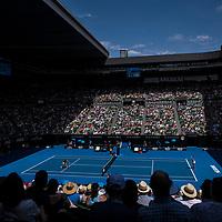 A general view of Rod Laver Arena on day ten of the 2018 Australian Open in Melbourne Australia on Wednesday January 24, 2018.<br /> (Ben Solomon/Tennis Australia)
