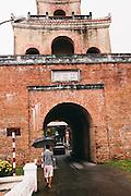 Gate of Imperial Citadel. Hue, Vietnam
