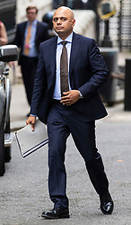 © Licensed to London News Pictures. 04/06/2018. London, UK. Home Secretary Sajid Javid on Downing Street. Photo credit: Rob Pinney/LNP