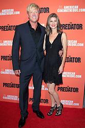September 12, 2018 - Los Angeles, Kalifornien - Jake Busey mit Lebenspartnerin April Hutchonson beim Special Screening des Kinofilms 'The Predator / Predator - Upgrade' im Egyptian Theatre. Los Angeles, 12.09.2018 (Credit Image: © Future-Image via ZUMA Press)