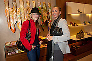 MIRIAM BLUNDELL; MARTINA KLEMMER, - BOOK PARTY FOR A BOOK BY DONNA FRANCESCA CENTURIONE SCOTTO AT Salvatore Ferragamo, 24 Old Bond Street, London W1. 14 May 2009