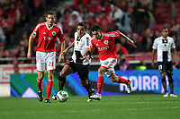 20111029: LISBON, PORTUGAL - SL Benfica vs Olhanense: Portuguese League 2011/2012. <br /> In photo: Benfica's midfielder Nicolas Gaitan vs Olhanense's midfielder Ismaily.<br /> PHOTO: Carlos Rodrigues/CITYFILES