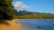 Anahola Beach Park, Kauai, Hawaii