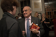LUCY TUCK; NICHOLAS COLERIDGE, The launch of Fire Child by Sally Emerson. Hosted by Sally Emerson and Naim Attalah CBE. Dean St. London. 22 March 2017