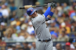 May 29, 2017 - San Diego, CA, USA - Chicago Cubs Kris Bryant warms up during a game against the San Diego Padres on Monday, May 29, 2017 at Petco Park in San Diego, Calif. (Credit Image: © K.C. Alfred/TNS via ZUMA Wire)