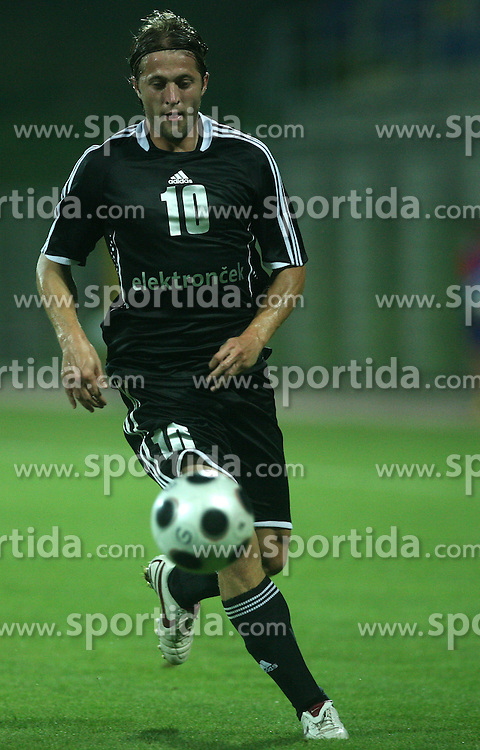 Dario Zahora (10) of Interblock at 2nd football match of 1st Qualifying Round for UEFA Cup between NK Interblock (Ljubljana) vs FC Zeta (Golubovci), on July 31, 2008, in Arena Petrol, Celje, Slovenia. Domzale won 1: 0 and advanced to second round. (Photo by Vid Ponikvar / Sportal Images)