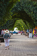 Market area in downtown Loreto Mexico