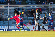 20th January 2018, Dens Park, Dundee, Scotland; Scottish Cup fourth round, Dundee versus Inverness Caledonian Thistle; Inverness Caledonian Thistle's Aaron Doran scores the opening goal for 1-0