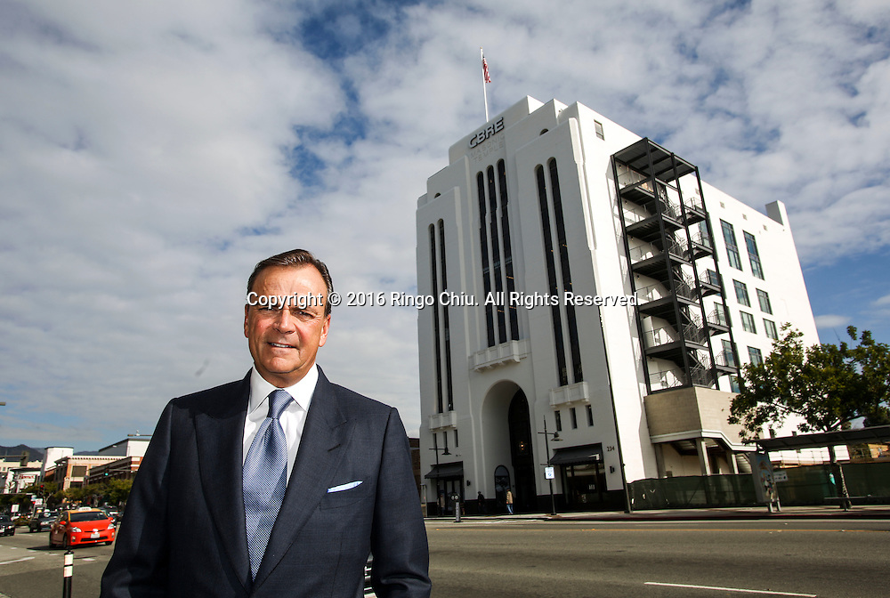 Los Angeles developer Rick Caruso at his newest development, the Masonic Temple in Glendale.<br /> (Photo by Ringo Chiu/PHOTOFORMULA.com)<br /> <br /> Usage Notes: This content is intended for editorial use only. For other uses, additional clearances may be required.