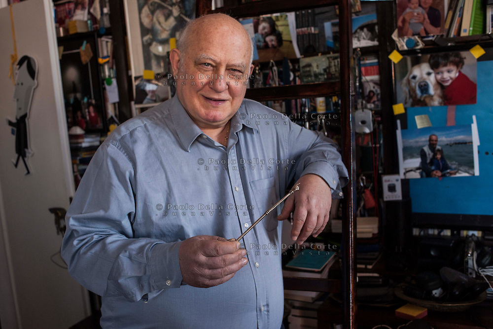 Venezia - Riccardo Calimani scrittore nella sua casa.