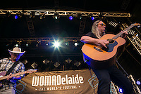 Violent Femmes start thier new tour play at Womadelaide 2016 Music Festival held between 11 - 14 March 2016 in Adelaide, South Australia