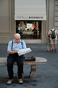 Cute old Florentines, Florence, Italy, Frommer's Italy Day By Day