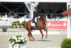 Peijen Romy, (NED), Rex<br /> Grand Prix U25<br /> CDIO Hagen 2015<br /> © Hippo Foto - Stefan Lafrentz