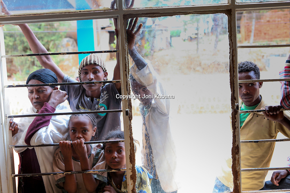 Demand for health care is high in rural Ethiopia and when doctors arrive at a local hospital in Gimbie, Ethiopia, crowds gather to try to get an appointment for themselves or a loved one.