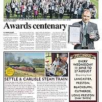 'Saving a life', one award amongst many at the final ceremony for Lancashire Probation Trust