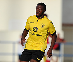 Aston Villa's Charles N'Zogbia  - Photo mandatory by-line: Joe Meredith/JMP - Mobile: 07966 386802 - 17/07/2015 - SPORT - Football - Albufeira - Estadio Da Nora - Pre-Season Friendly