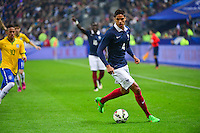 Raphael VARANE - 26.03.2015 - France / Bresil - Match Amical<br />
