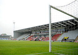 The Globe Arena - Mandatory byline: Neil Brookman/JMP - 07966 386802 - 03/10/2015 - FOOTBALL - Globe Arena - Morecambe, England - Morecambe FC v Bristol Rovers - Sky Bet League Two