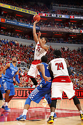 Kentucky won 58-50.<br /> <br /> The University of Louisville hosted the University of Kentucky, Saturday, Dec. 27, 2014 at Yum Center in Louisville. <br /> <br /> Photo by Jonathan Palmer