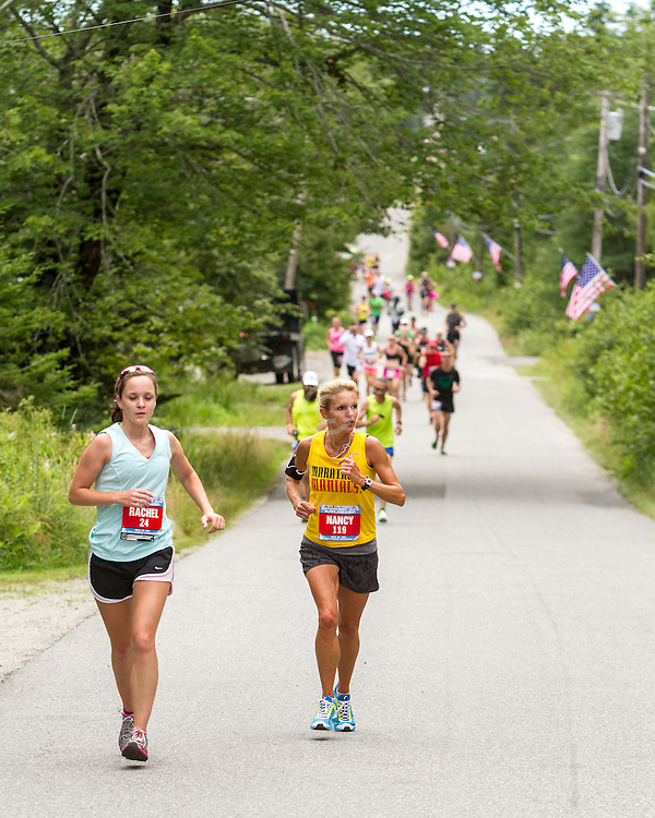 Great Cranberry Island Ultra 50K road race: Rachel and Nancy