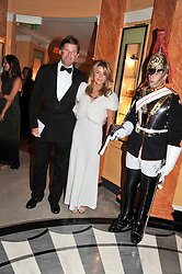RUPERT & ELEANOR FRYER at Fashion For The Brave held at The Dorchester Hotel, Park Lane, London on 20th September 2012.