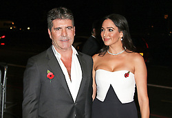 © London News Pictures. Simon Cowell & Lauren Silverman, Music Industry Trusts Award, Grosvenor House, London UK, 02 November 2015, Photo by Brett D. Cove /LNP © London News Pictures.