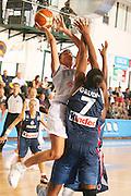 DESCRIZIONE : Chieti Italy Italia Eurobasket Women 2007 Italia Italy Francia France <br /> GIOCATORE : Jennifer Nadalin<br /> SQUADRA : Nazionale Italia Donne Femminile EVENTO : Eurobasket Women 2007 Campionati Europei Donne 2007<br /> GARA : Italia Italy Francia France <br /> DATA : 26/09/2007 <br /> CATEGORIA : Tiro <br /> SPORT : Pallacanestro <br /> AUTORE : Agenzia Ciamillo-Castoria/E.Castoria Galleria : Eurobasket Women 2007 <br /> Fotonotizia : Chieti Italy Italia Eurobasket Women 2007 Italia Italy Francia France <br /> Predefinita :