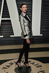 Celebrity arrivals at the Vanity Fair Oscar Party 2017 in Los Angeles, California. 26 Feb 2017 Pictured: Liberty Ross. Photo credit: BITSY / MEGA TheMegaAgency.com +1 888 505 6342