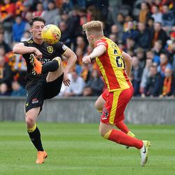 Partick Thistle v Livingston, Scottish Premiership play off, 20 May 2018