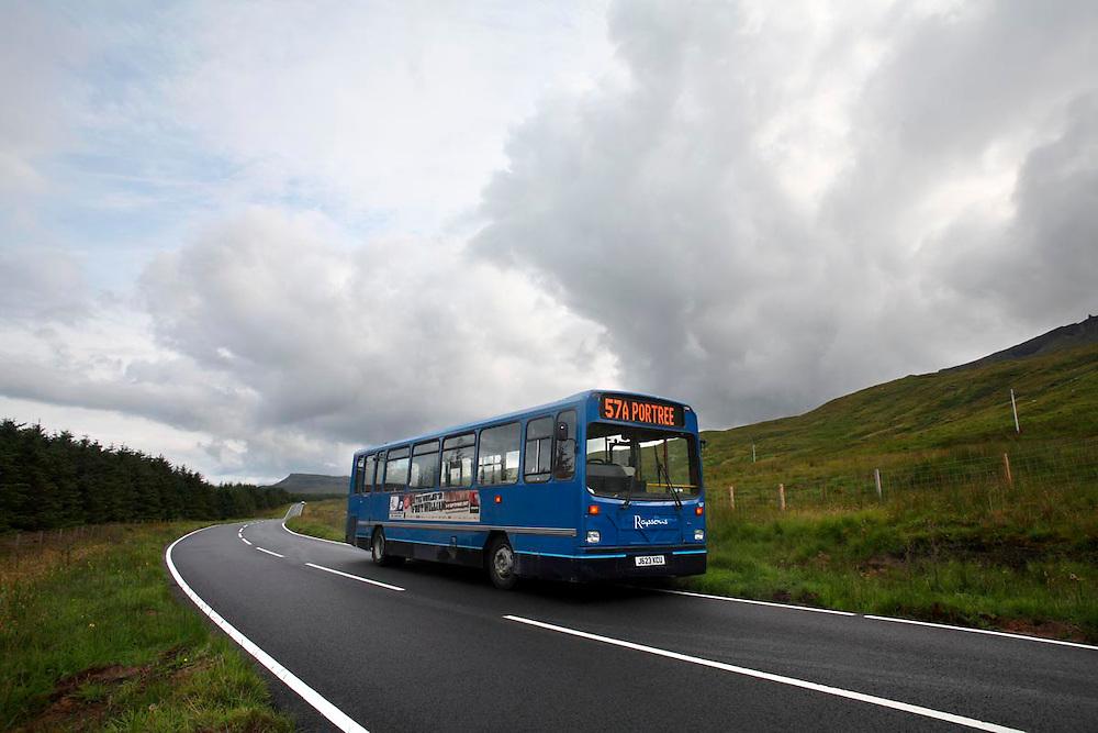 Staffin. isla de Skye. Scotland.