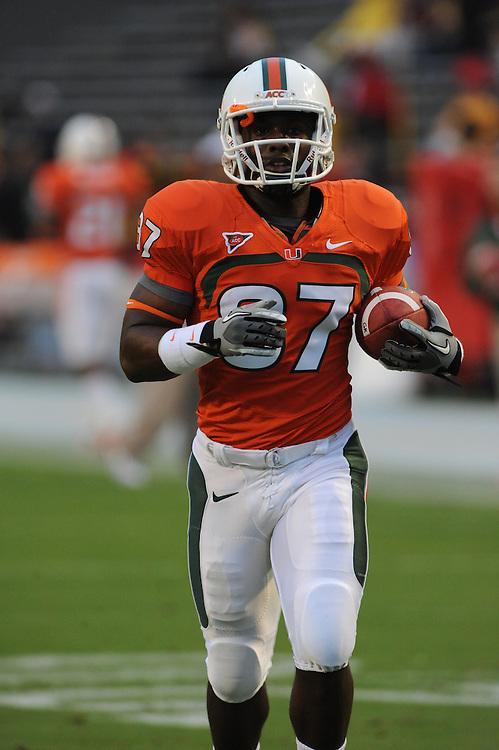 2011 Miami Hurricanes Football @ Maryland<br /> <br /> Ben Bruneau