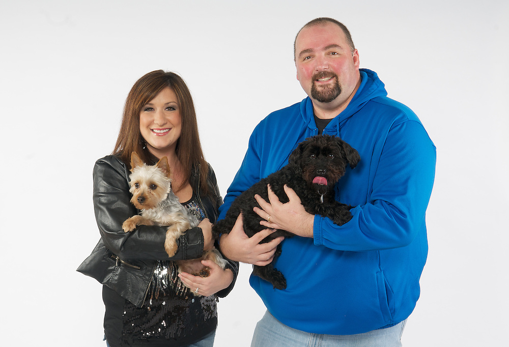 Jen Toohey and Allan Fee of Q104 for the Cleveland APL Special section in Cleveland Magazine.
