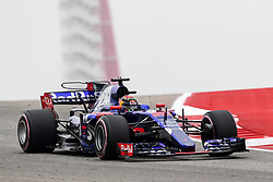October 20, 2017 - Austin, Texas, U.S - Brendon Hartley of New Zealand (39) in action before the Formula 1 United States Grand Prix race at the Circuit of the Americas race track in Austin,Texas. (Credit Image: © Dan Wozniak via ZUMA Wire)
