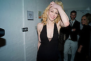 COURTNEY LOVE. The Elle Style Awards 2009, The Big Sky Studios, Caledonian Road. London. February 9 2009.
