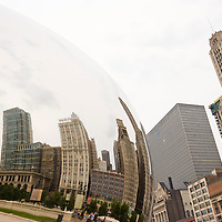 Cloud Gate at Millenum Park or AT&T Park, Chicago, Illinois, USA