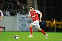 FOOTBALL - FRENCH CHAMPIONSHIP 2011/2012 - L2 - STADE DE REIMS v AS MONACO - 07/05/2015 - PHOTO JEAN MARIE HERVIO / REGAMEDIA / DPPI - Johan RAMARE (REI)