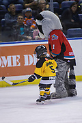 KELOWNA, CANADA - FEBRUARY 12:  Mini Minor Game at the Kelowna Rockets game on February 12, 2018 at Prospera Place in Kelowna, British Columbia, Canada.  (Photo By Cindy Rogers/Nyasa Photography,  *** Local Caption ***