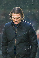 Gareth Ainsworth Manager  of Wycombe Wanderers during the Sky Bet League 2 match at Adams Park, High Wycombe<br /> Picture by David Horn/Focus Images Ltd +44 7545 970036<br /> 26/12/2014