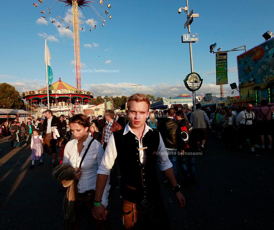 Germany, Monaco: Oktoberfest.