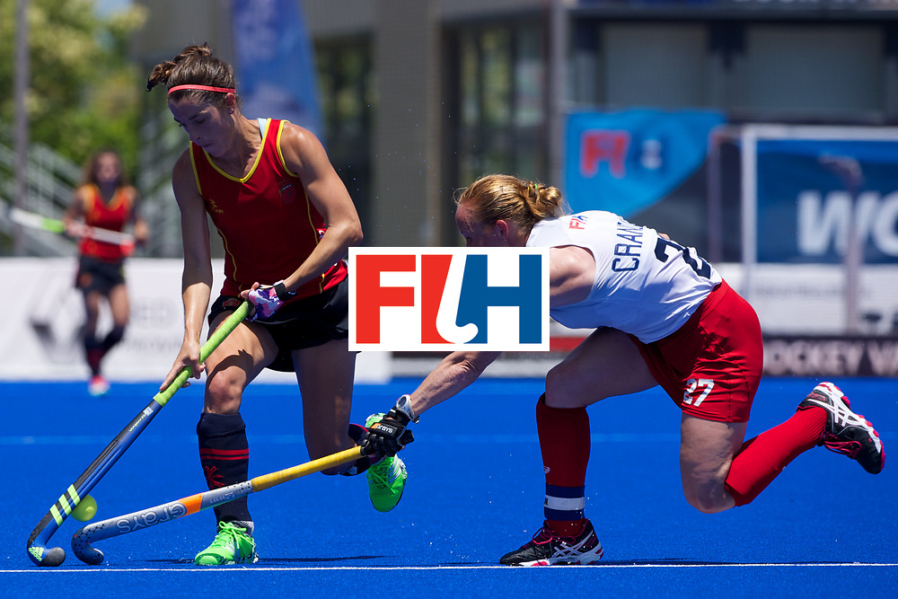RIO 2016 Olympic qualification, Hockey, Women, match for 5th place, Spain vs United States of America :  Lauren Crandall